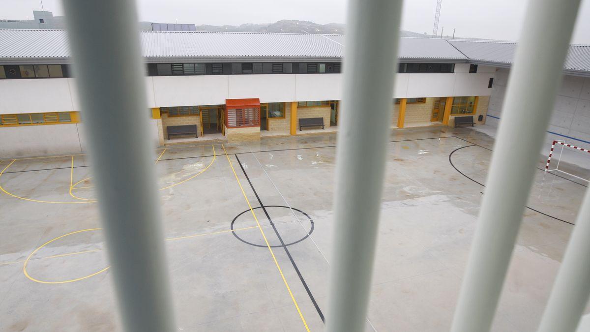 Interior del centro penitenciario.