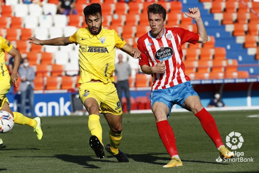 Las imágenes del CD Lugo - Málaga CF de LaLiga SmartBank