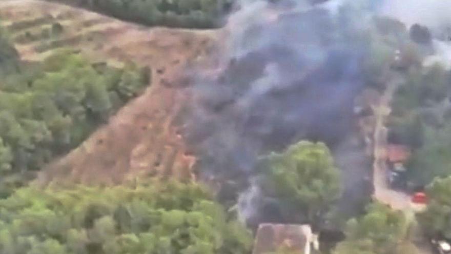 Otro pequeño incendio forestal enciende la alarma en Rafelguaraf