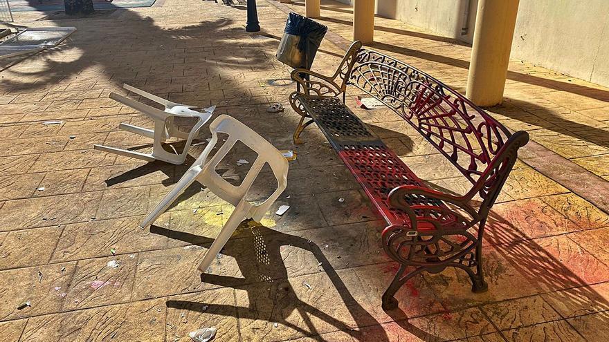Lamentan el vandalismo en la Llosa de Ranes