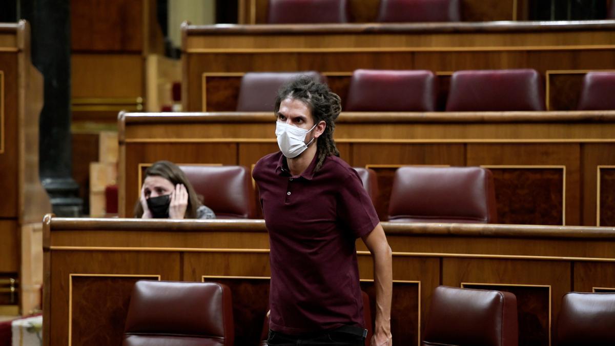 El diputado de Podemos Alberto Rodríguez paga la multa que fijó el Supremo