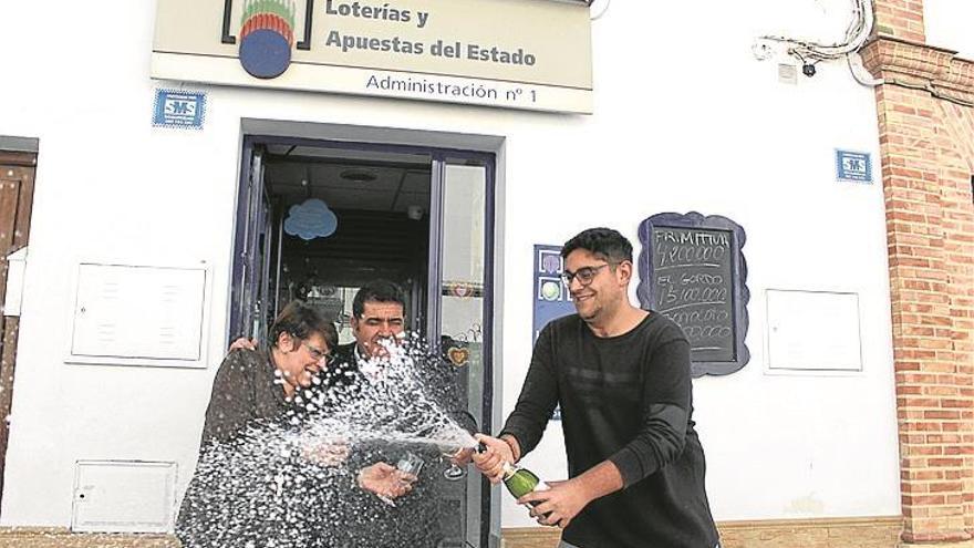 La administración nº 1 de Cañete reparte un millón de euros de la Lotería