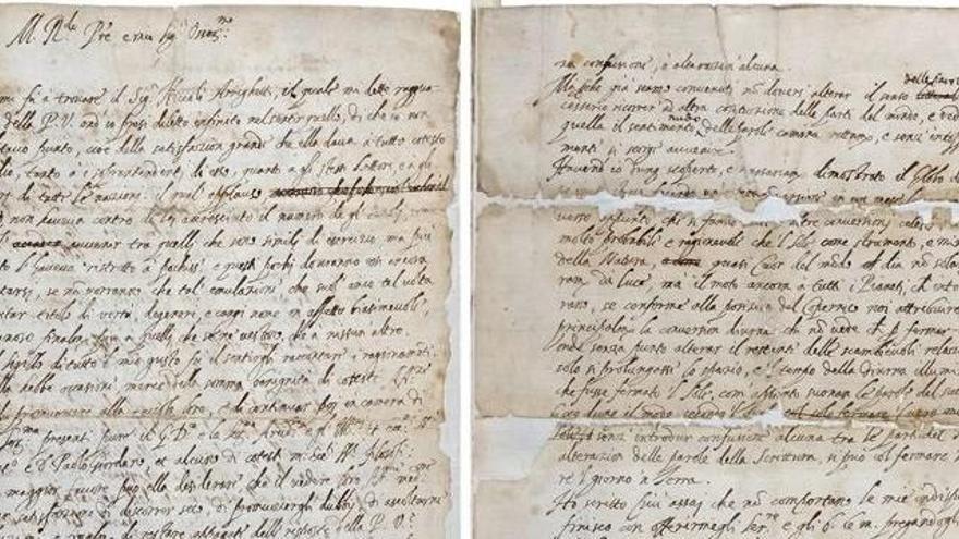 Aparece en la Royal Society la carta con la que Galileo quiso engañar a la Inquisición