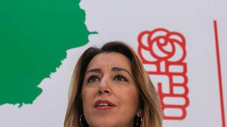 Susana Díaz anuncia su intención de liderar al PSOE en las próximas elecciones andaluzas