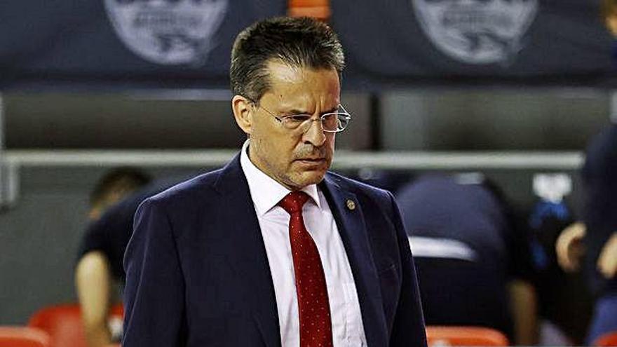 Pedro Martínez: «Han trobat l'encert de dos homes en un partit igualat»