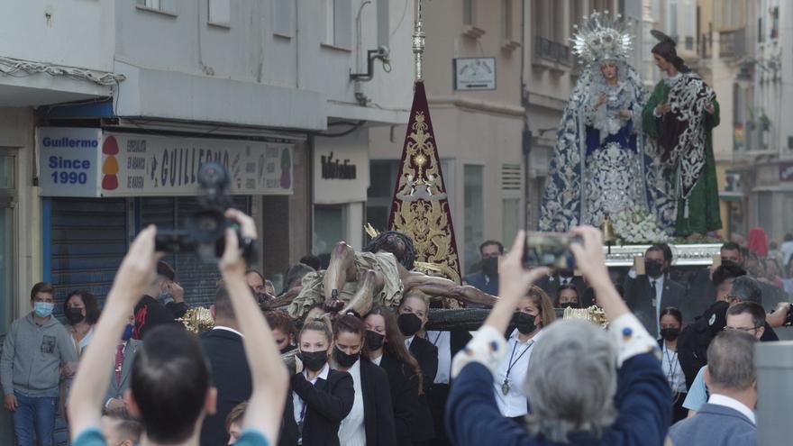 El metro de Málaga reforzará su servicio de trenes el día de la procesión Magna