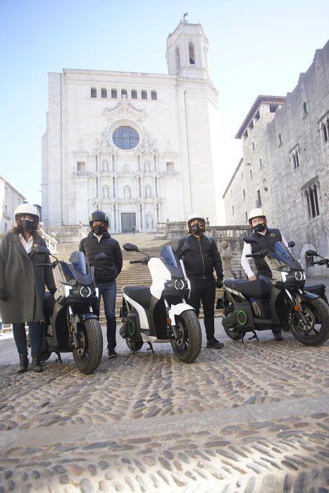 Les motos elèctriques de Silence aterren a Girona.