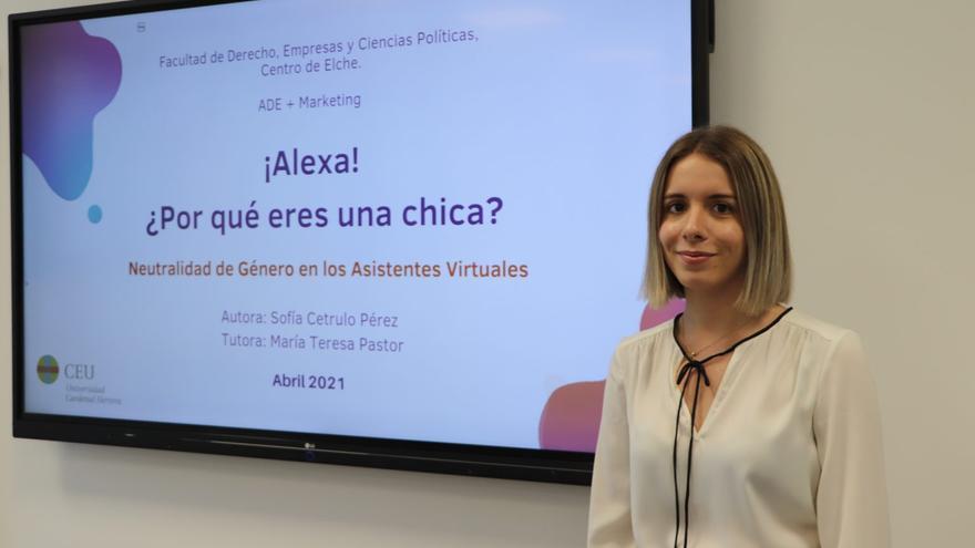 Una alumna internacional de ADE y Marketing del CEU, galardonada por un estudio sobre la neutralidad de género en los asistentes virtuales