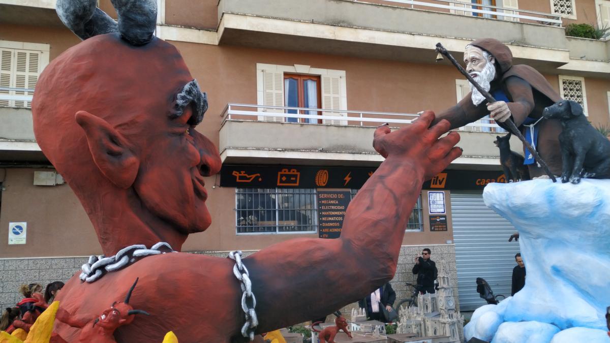 Manacor suspende todos los concursos de Sant Antoni.