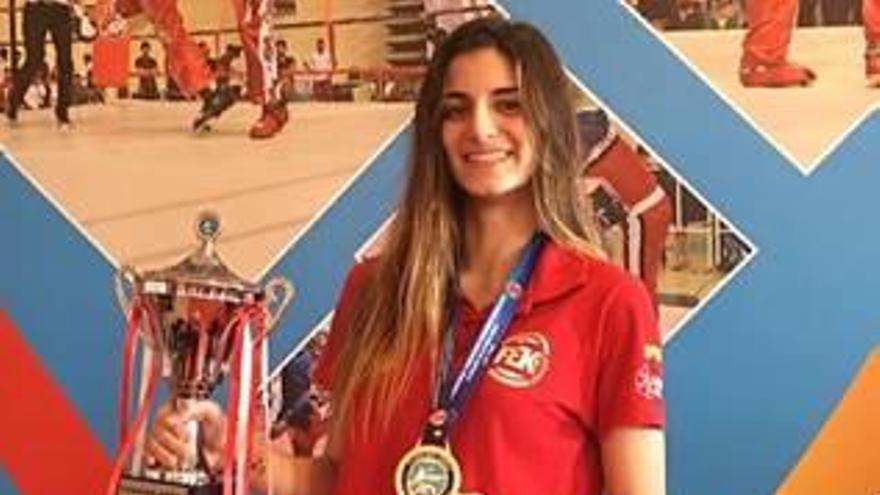 La gandiense Carla Reig Martínez representará  a España en el Mundial