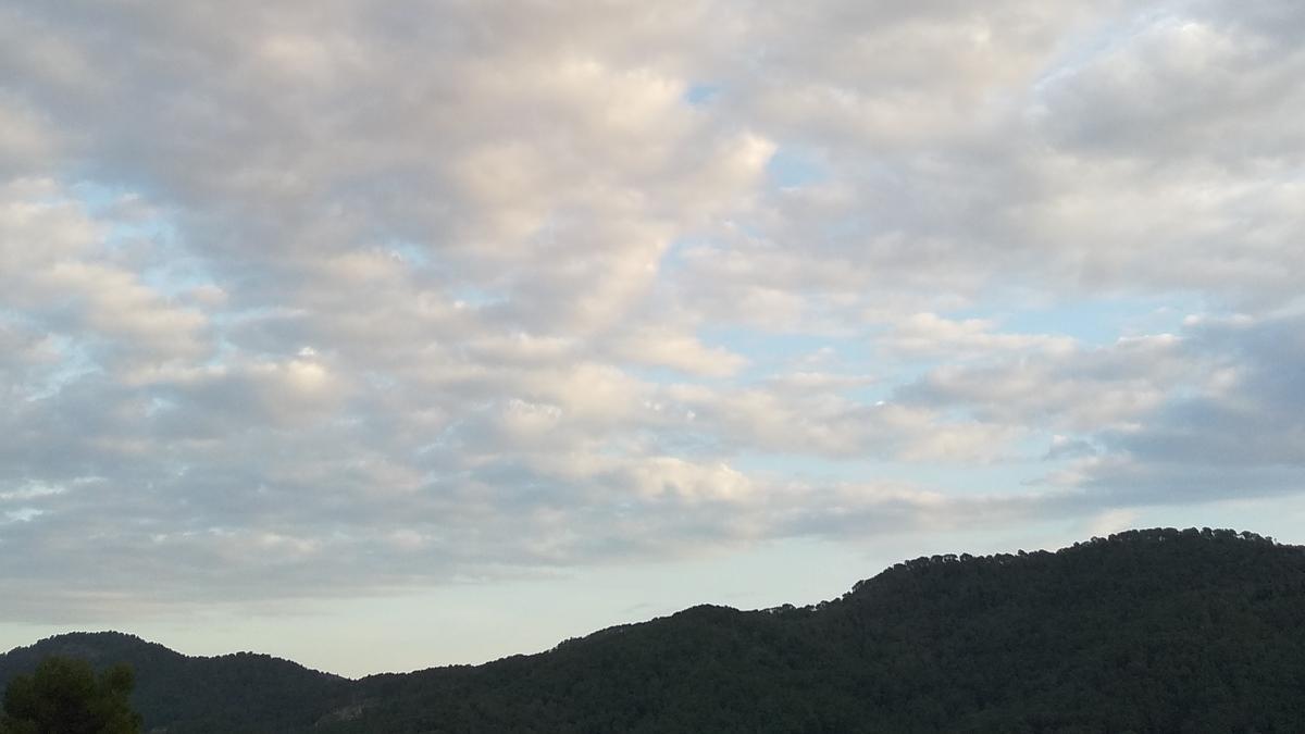 COMUNIDAD VALENCIANA.-Nubes altas este martes en la Comunitat y temperaturas mínimas de 7º