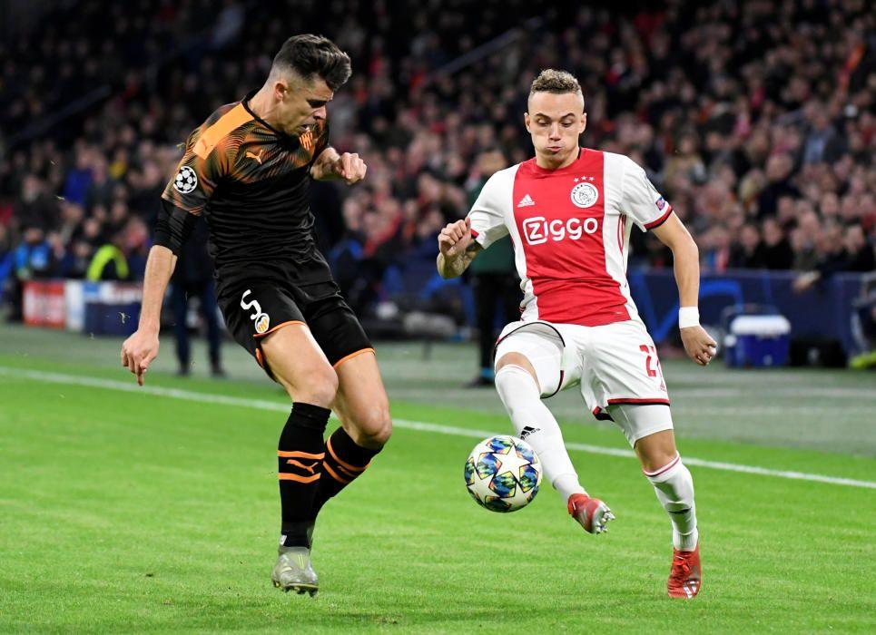 Las mejores imágenes del partido de Champions entre el Ajax y el Valencia.