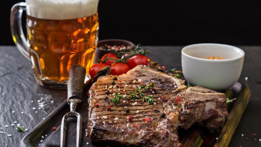 Carne a la cerveza