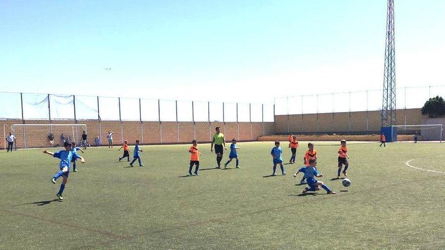 La Herradura, sede del Torneo de Fútbol Base Ciudad de Telde