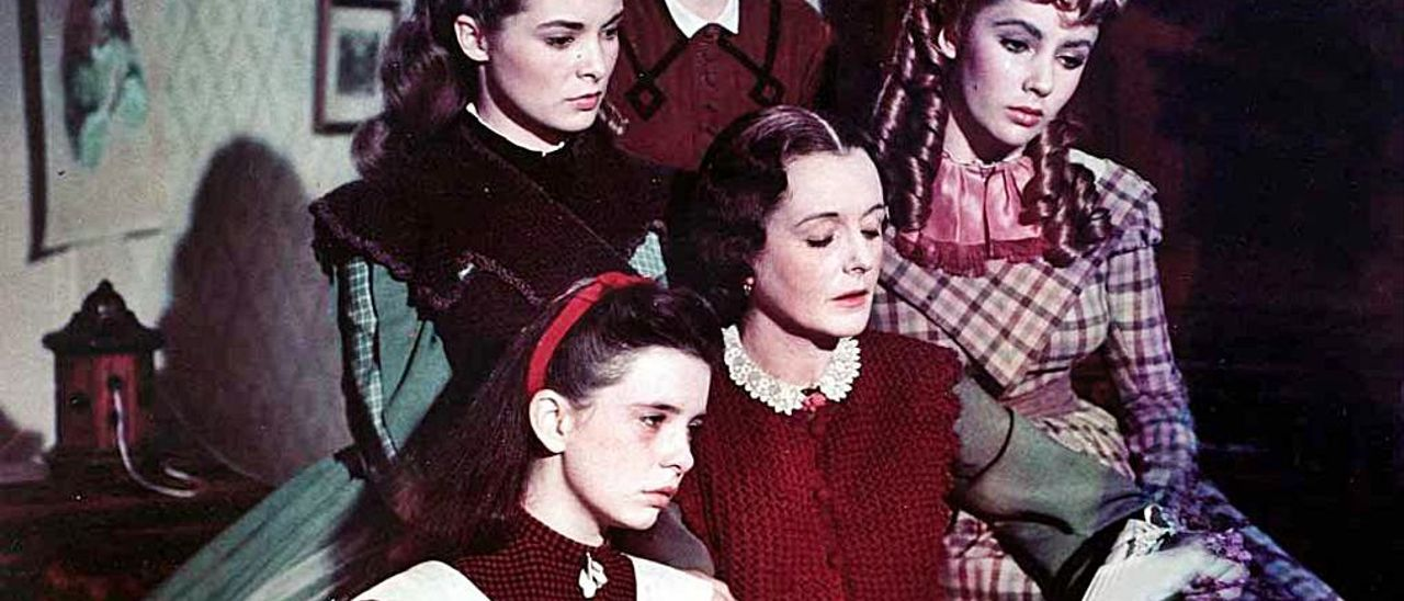 Las March, en la adaptación de la novela de 1949.