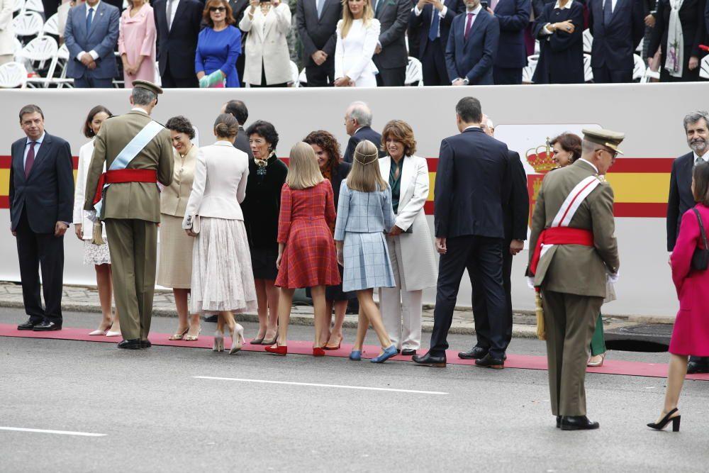 El Rey Felipe VI, la Reina Letizia, la princesa ...