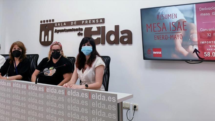 El Ayuntamiento de Elda atiende a 200 familias vulnerables en los cinco primeros meses de 2021