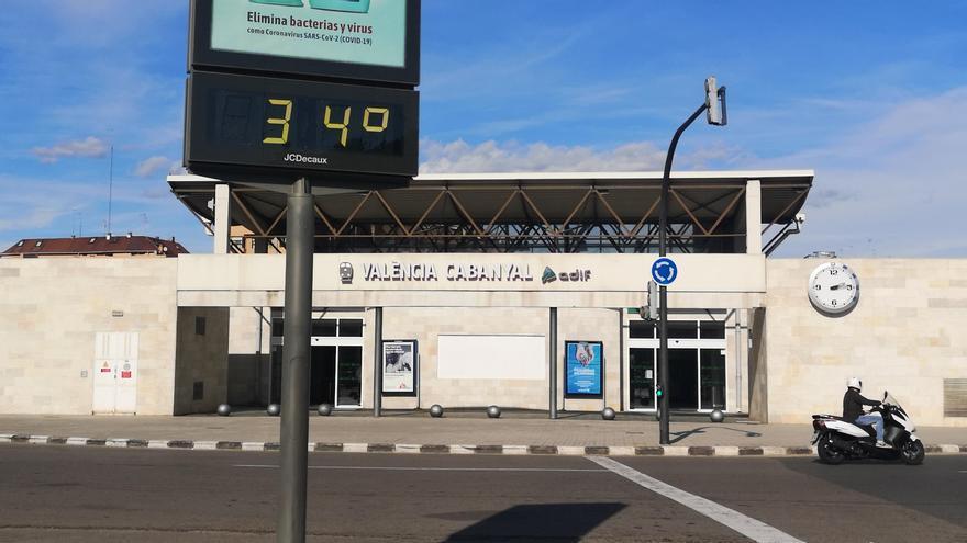 València roza el récord de calor en el mes de enero