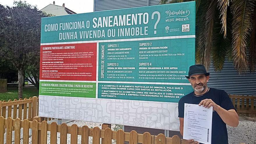 """Medio Ambiente denuncia ante el Consello de Contas """"anomalías"""" desde 2010 en las obras del saneamiento"""
