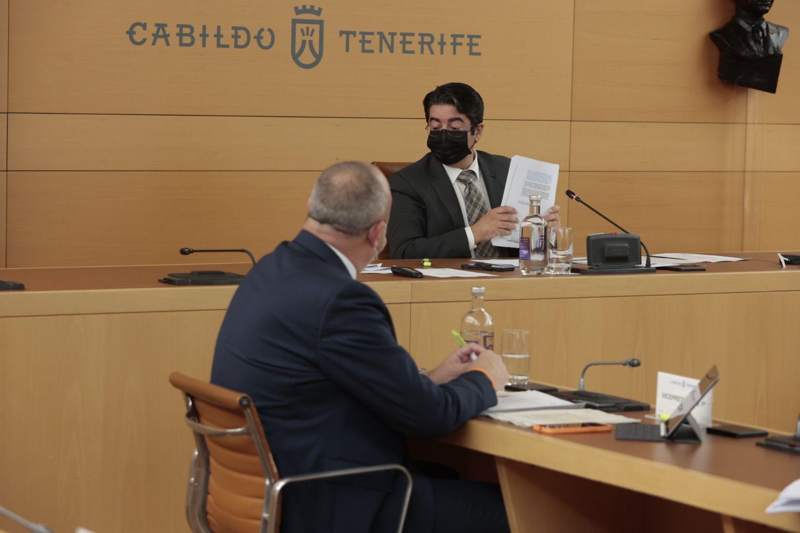 Pleno del Cabildo de Tenerife 01/03/2021