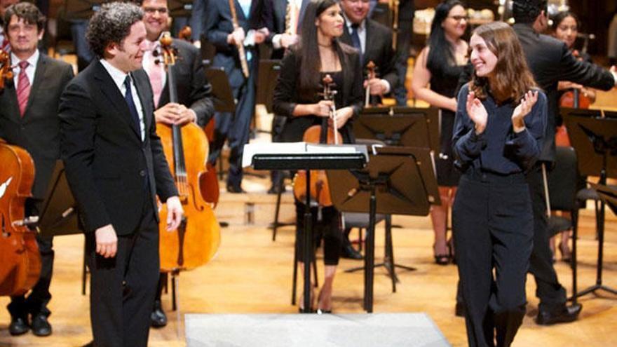 María Valverde, protagonista del concierto de Año Nuevo