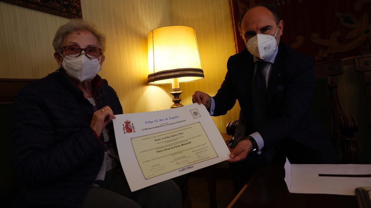 Avelina, oficialmente perito a los 96 años