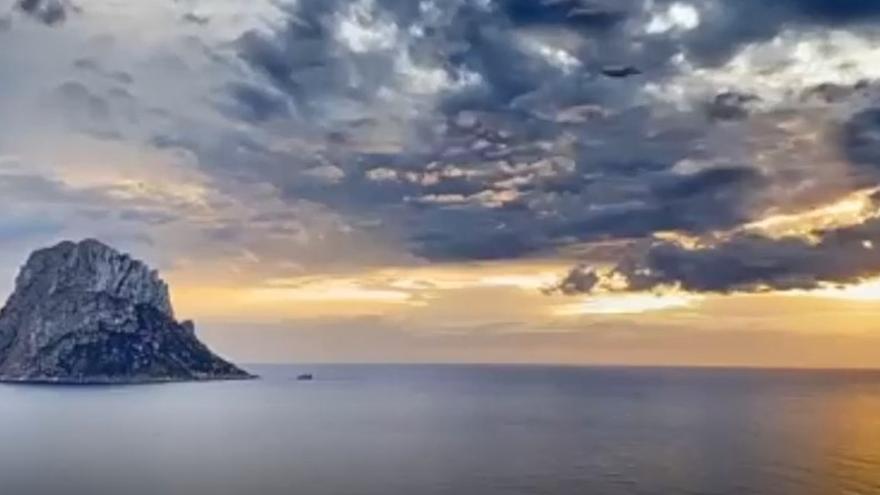 La belleza de es Vedrà en Ibiza en treinta segundos