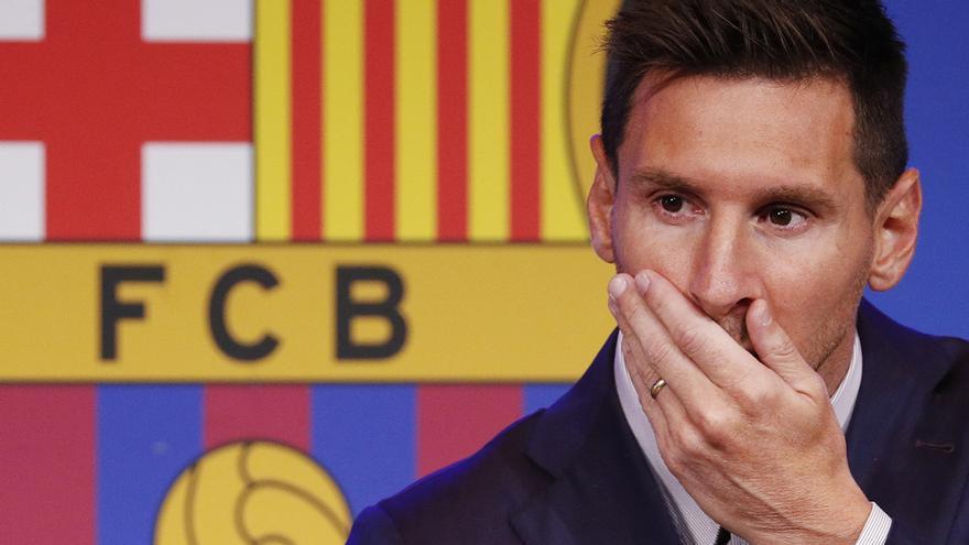 Incredulidad y tristeza: La reacción del barcelonismo tras la salida de Leo Messi