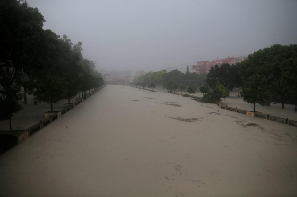 La DANA inunda Orihuela
