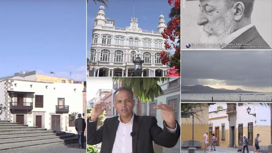 El canal ARTE emite un documental sobre Camille Saint-Saën en Las Palmas