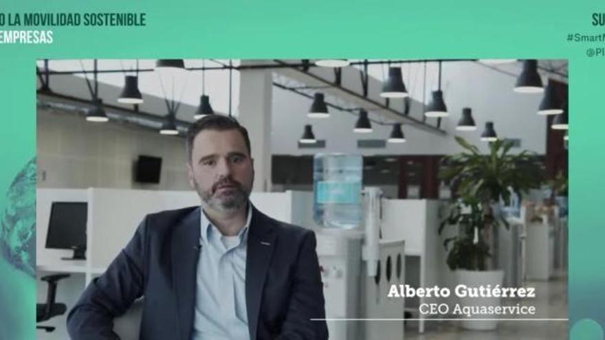 Aquaservice, elegida caso de éxito en el evento 'Impulsando la Movilidad Sostenible desde las empresas'