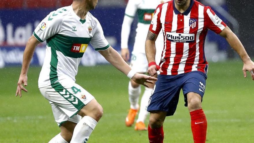 Ocho victorias locales, seis empates y siete derrotas en el Elche-Atlético
