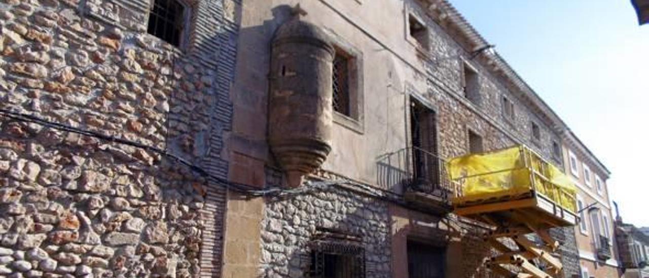 """La """"Casa Forta"""" protegida de Ondara desnuda su piedra"""