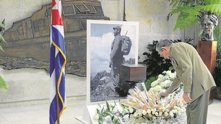 Adiós masivo a Fidel