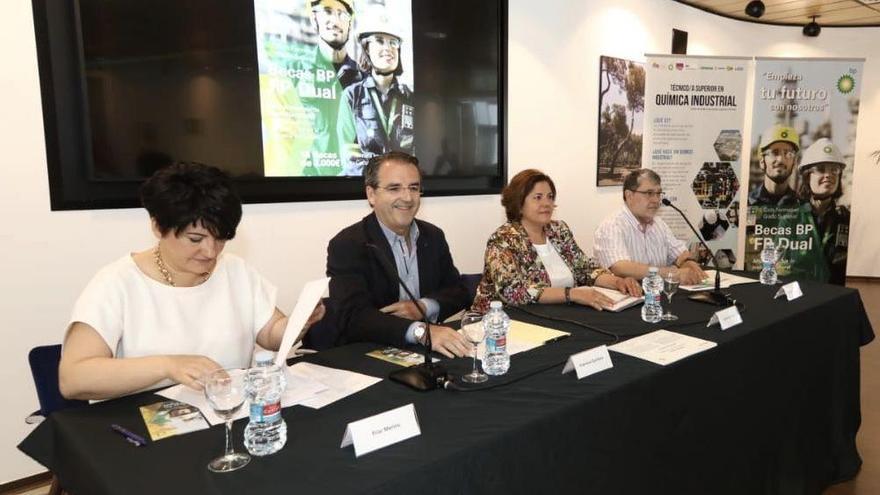 BP lanza sus primeras becas de FP dual en Castellón con 60.000 euros