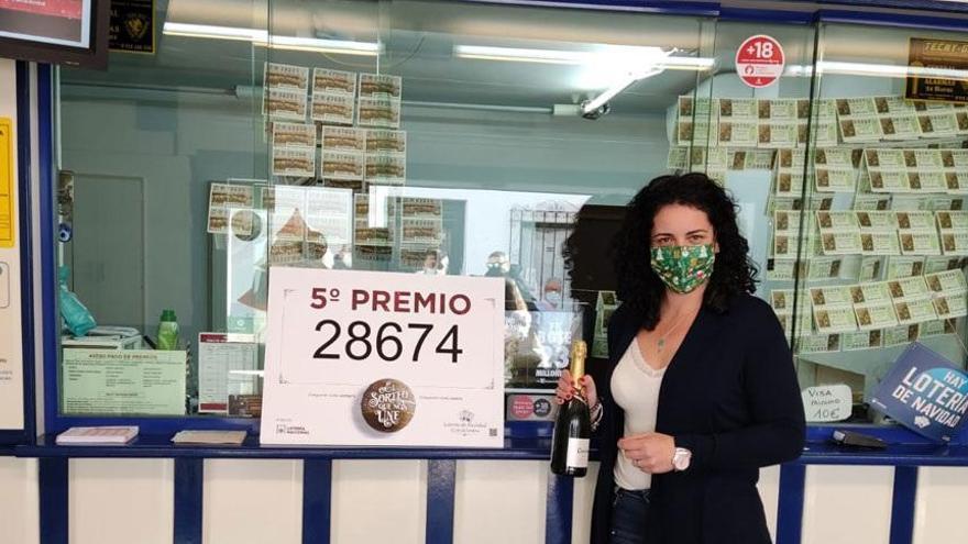 No hay quinto malo en Málaga: la lotería deja más de un millón de euros