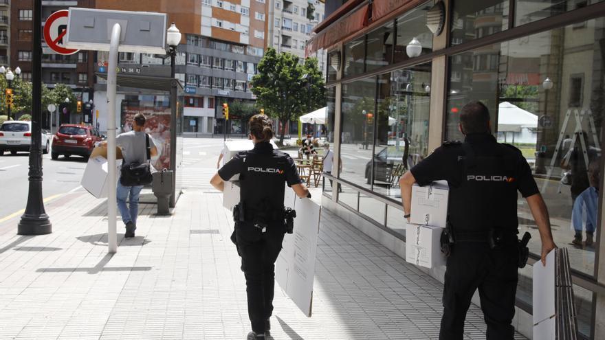 Detenidos cuatro hombres por violar en grupo y golpear a dos mujeres en Gijón