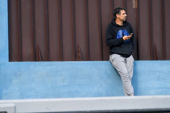 25-01-20  DEPORTES. CAMPOS DE FUTBOL DE LA ZONA DEPORTIVA DEL PARQUE SUR EN  MASPALOMAS. MASPALOMAS. SAN BARTOLOME DE TIRAJANA.  San Fernando de Maspalomas Santos- Veteranos del Pilar (Cadetes).  Fotos: Juan Castro.  | 25/01/2020 | Fotógrafo: Juan Carlos Castro