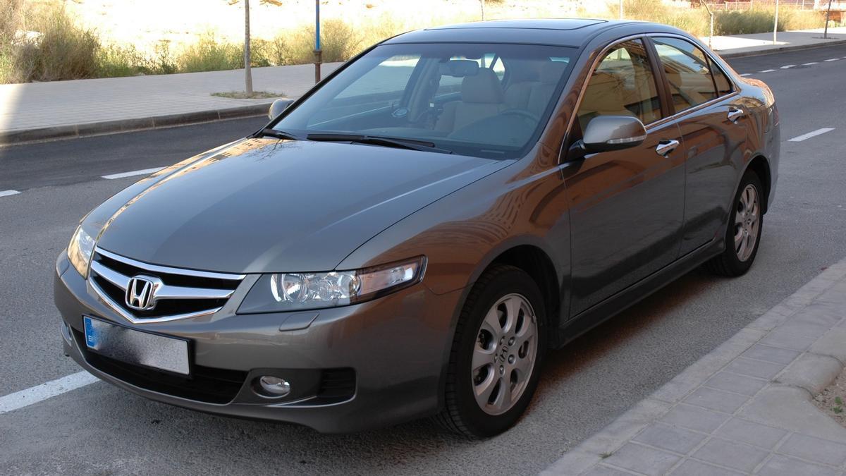 El coche de Fernando Maciá que ha sido robado.