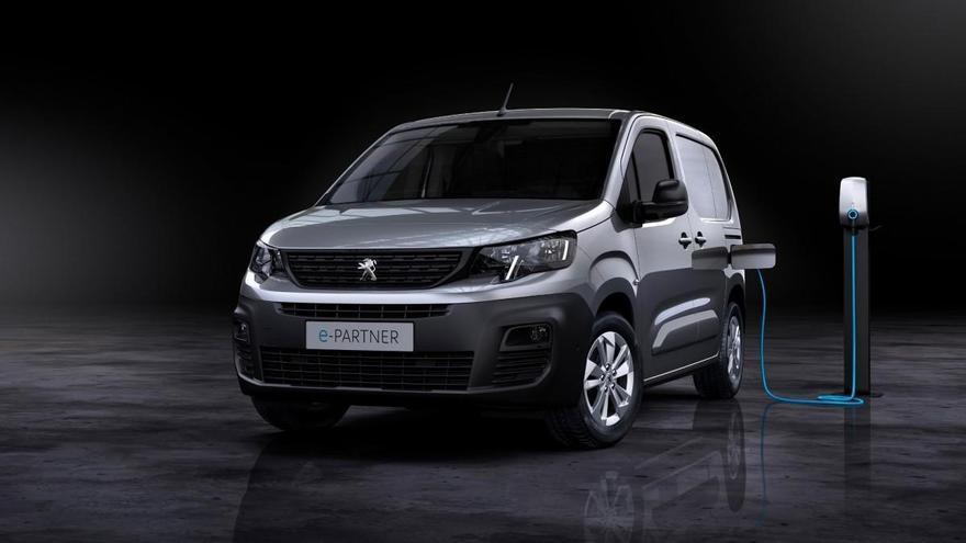 Nuevo Peugeot e-Partner: 100% eléctrico y con 275 kilómetros de autonomía