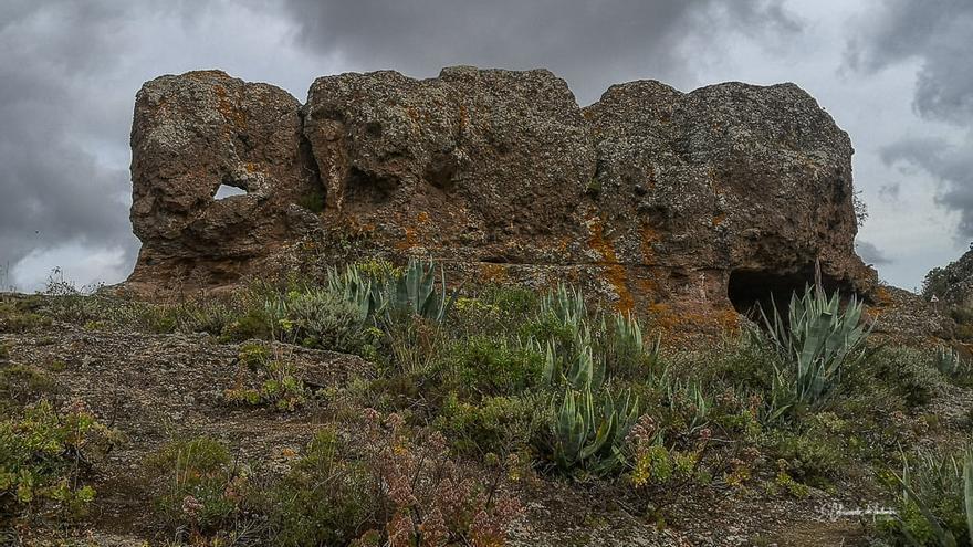Las Cuevas hábitat troglodita de los indígenas canarios en Gran Canaria