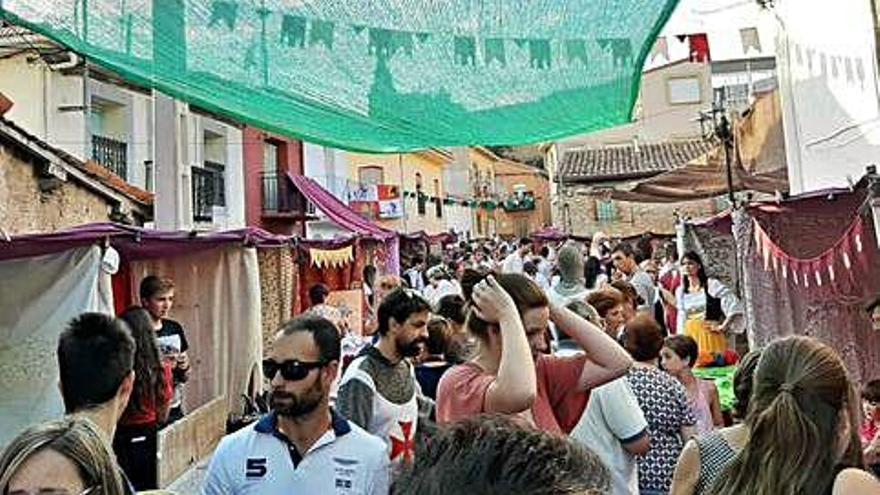 Mercado medieval celebrado en El Maderal.