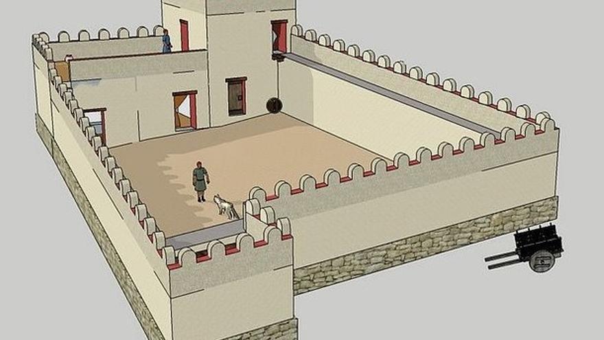 El fortín de Aigües Baixes. Con sentencia y a lo loco