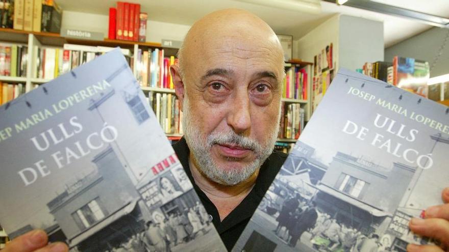 Mor l'escriptor i col·laborador del Diari de Girona Josep Maria Loperena