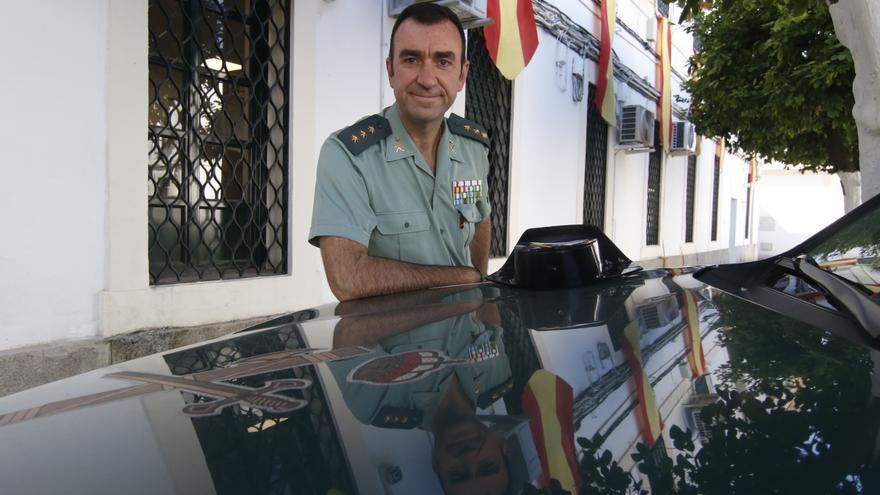 Juan Carretero, coronel jefe de la Comandancia de la Guardia Civil de Córdoba