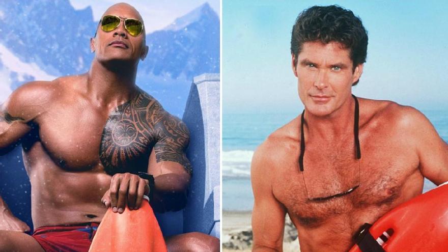 'Baywatch': Els actors originals vs. els nous protagonistes
