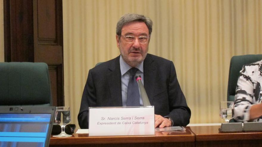 Absueltos Narcís Serra y los restantes 40 acusados por los sueldos de Caixa Catalunya