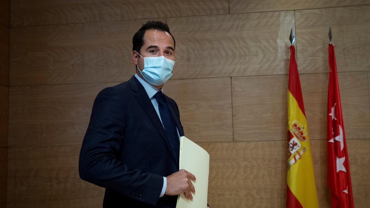 El exvicepresidente de Madrid, Ignacio Aguado.