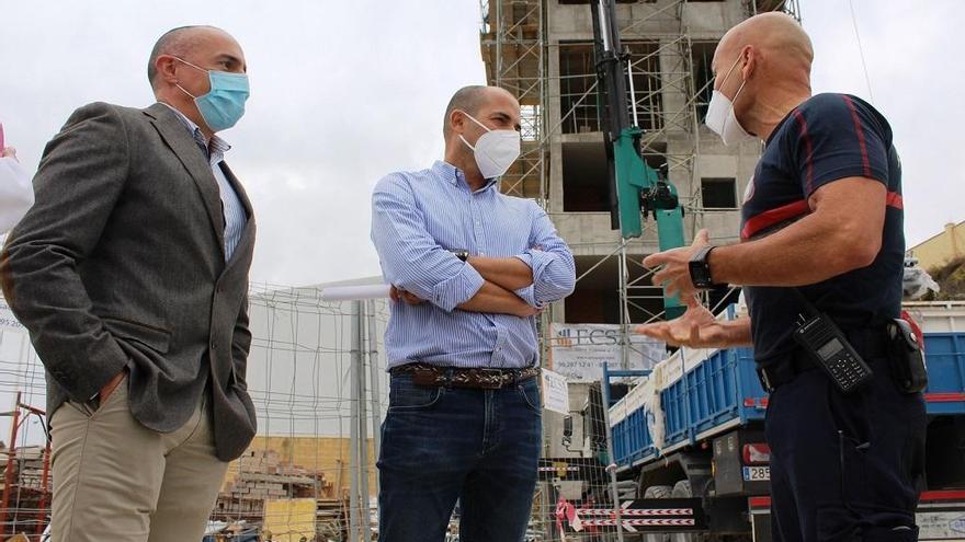 Los Bomberos de Fuengirola contarán con una torre para practicar rescate en altura
