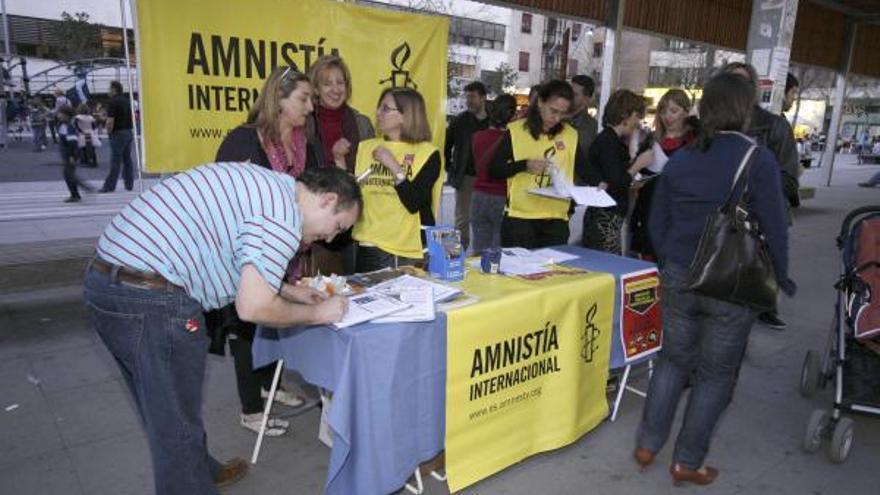 Amnistía Internacional suspende su acto reivindicativo en Zamora
